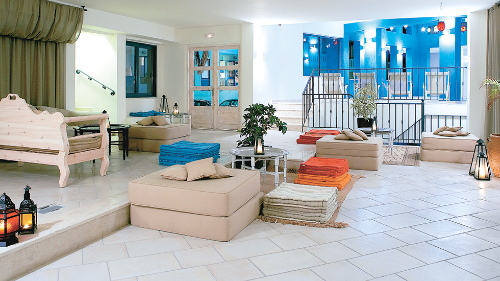 plaza spa apartments lounges crete