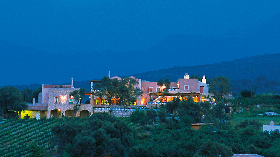 plaza spa restaurant seafront crete